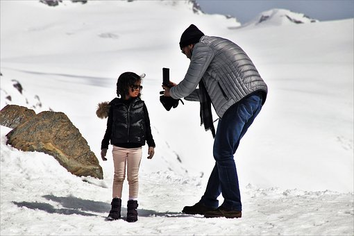 Child, Photography, Winter, Snow, Cold