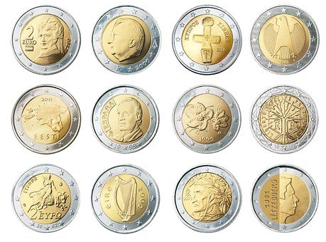 Coin, Currency, Euro, Money, Wealth