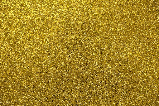 Glitter, Gold, Metallic, Gold Glitter