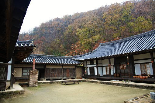 Traditional, Republic Of Korea, Hanok