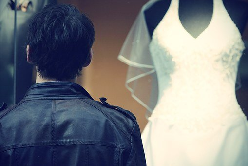 Man, Young, Marry, Dress, Wedding Dress