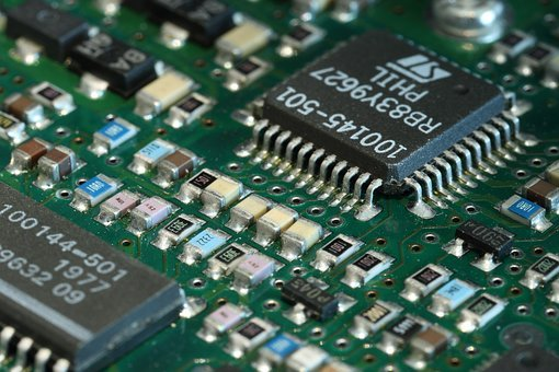 Pcb, Printed, Circuit, Board, Components