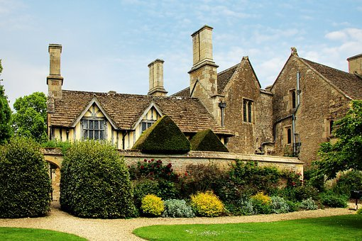 Facade, Great Chalfield, Manor, House