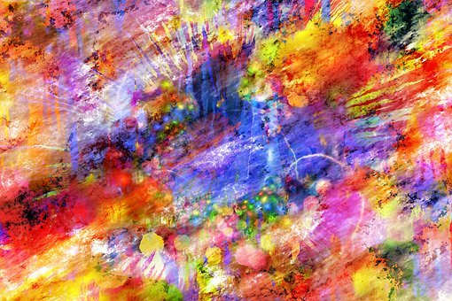 Colorful, Abstract, Artwork, Art